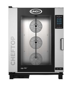 Unox CHEFTOP MIND.Maps™ PLUS XEVC-1021-GPR Gas Combi Oven