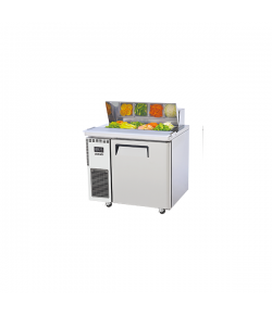 SKIPIO, Salad Side Prep Table, Hood Lid, 900mm, 1 Door