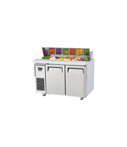 SKIPIO, Salad Side Prep Table, Hood Lid, 1200mm, 2 Door