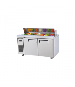 SKIPIO, Salad Side Prep Table, Hood Lid, 1500mm, 2 Door