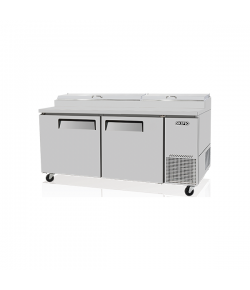 SKIPIO, Pizza Prep Table, 566L, 2 Door