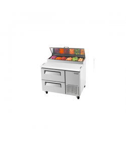 SKIPIO, Pizza Prep Table, Drawer, 396L,