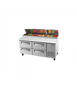 SKIPIO, Pizza Prep Table, 4 Drawers, 566L,
