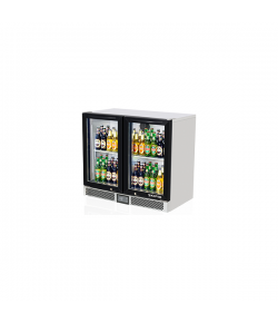 SKIPIO, Back Bar Fridge, 2 Door, 900mm (H)
