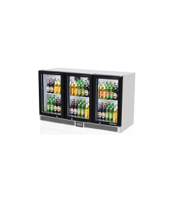 SKIPIO, Back Bar Fridge, 3 Door, 900mm (H)