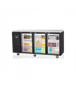 SKIPIO, Back Bar Fridge, 3 Door, 2040mm