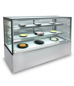 Cake display - 2 shelves, 1800mm