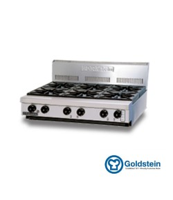Gas burner range