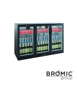 Back Bar Fridge -  3 Door