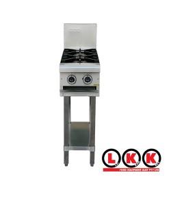2 Gas Open Burner Cooktop