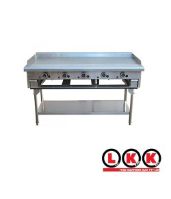 5 Burner Teppan Griddle
