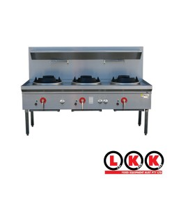 Three Hole Wok Table