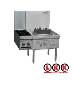 2 Gas Open Burner Cooktop Clip onto Wok Series