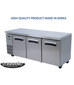 Lassele Underbench Freezer, 3 Door, 521 litre