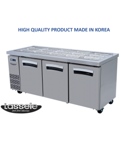 Lassele Underbench Topping Fridge, 3 Door, 521 Litre