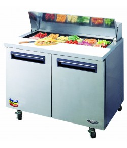 Lassele Sandwich Preparation Fridge, 1227mm