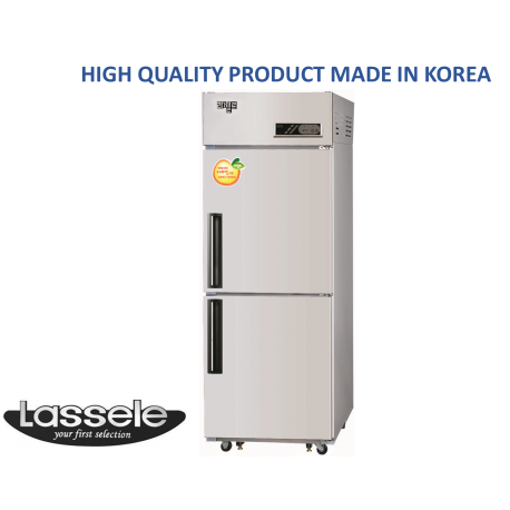 Upright Freezer, 2 Half Door, 500Litre