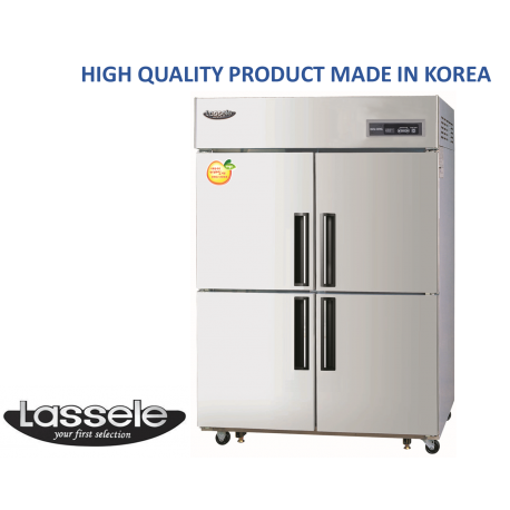 Upright Fridge, 4 Half Door, 1081Litre