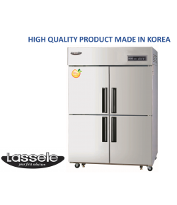 Lassele Upright Freezer, 4 Half Door, 1053Litre