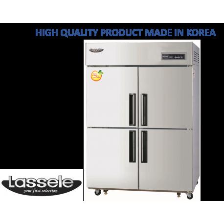 Lassele Upright Freezer, 4 Half Door, 1053Litre