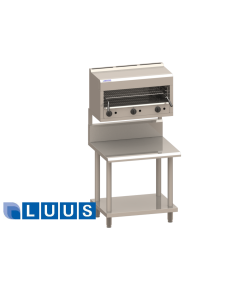 LUUS SM series in-fill bench with mount, 600mm