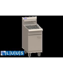 LUUS Gas Fryer, 2 baskets V-pan