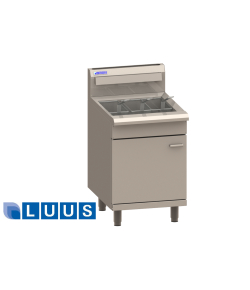LUUS Gas Fryer, 3 baskets V-pan