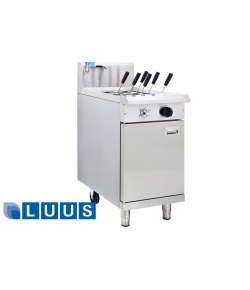 LUUS Pasta Cooker - 450mm 6 basket cooker