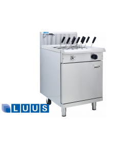 LUUS Pasta Cooker - 600mm 9 basket cooker