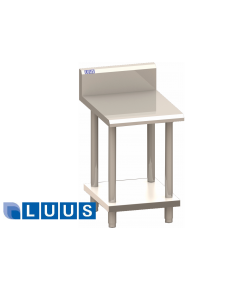 LUUS PRO series in-fill 600mm wide bench and shelf