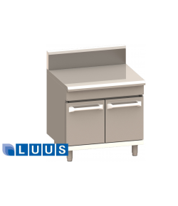 LUUS PRO series in-fill 300mm wide bench with door