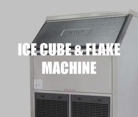 Ice Cubes & Ice Flake Machine